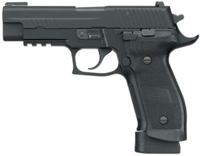 "P226 Tacops 9mm 4.4"" 20rd Nit Hover"