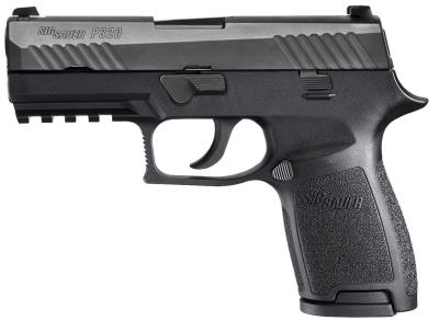 P320 9mm Compac Blk Nitrn 15rd Hover