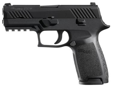 P320 Blk 9mm Slite Sght 17rd 1