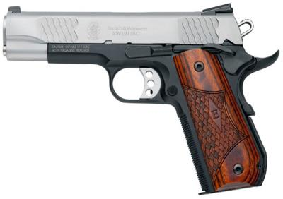 SW1911SC 45ACP 8 4.25 SS NS Hover