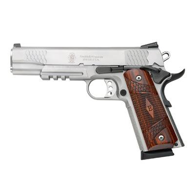 SW1911TA 45ACP 8 5 SS/WD NS Hover