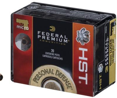 9mm 150Gr HST JHP Personal Def Hover