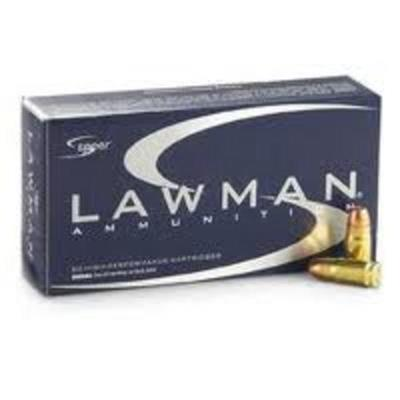9MM LUGER 147GR TMJ CF LAWMAN