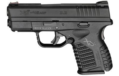 XDS 45 ACP 3.3IN BLK 5/6RD ESS