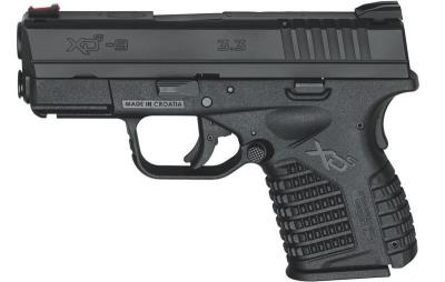 XDS 9MM 3.3IN BLK 7/8RD ESSENT