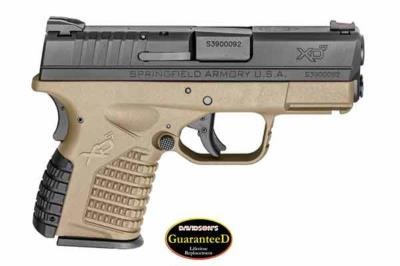 XDS ESSNTAL 9MM PST B/DE 8RD Hover