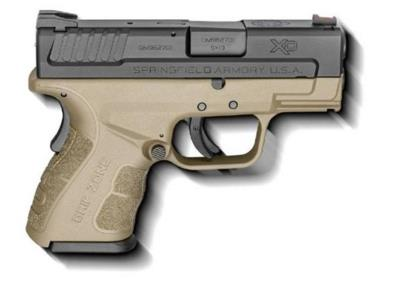 XD MOD.2 9MM 3IN 13+1 BLK/FDE Hover