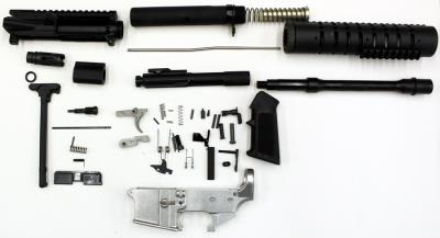 AR-15 10.5BBL 80% COMPLETE KIT