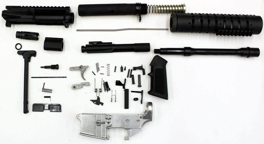 AR-15 10 5BBL 80% COMPLETE KIT