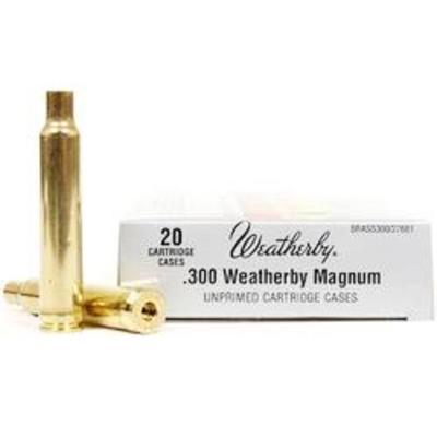 300 WBY MAG UNPRIMED BRASS