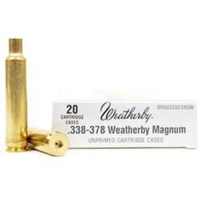 338-378 WBY MAG UNPRIMED BRASS