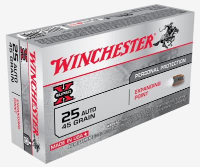 25 ACP 45GR EXP POINT 50PK SUP