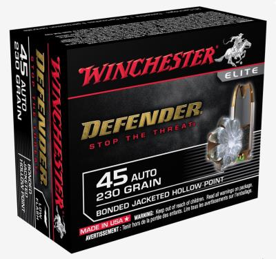 45 ACP 230GR PDX1 DFNDR HP 20- Hover