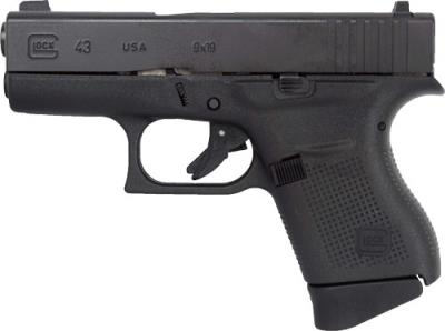 "G43 Gen4 9mm 3.39"" Gas Nitride"