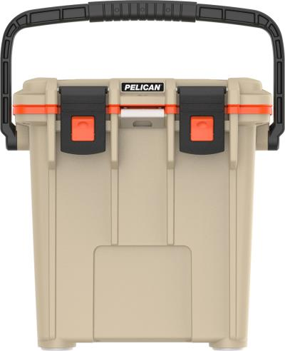 Elite Cooler 20qt Tan / Orange Hover