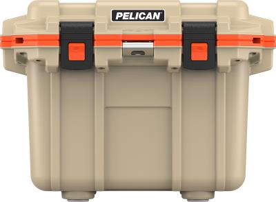 Elite Cooler 30qt Tan / Orange