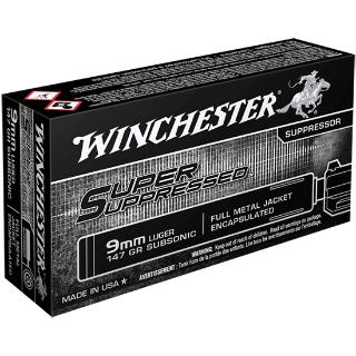 9mm 147Gr FMJE Super Suppresse