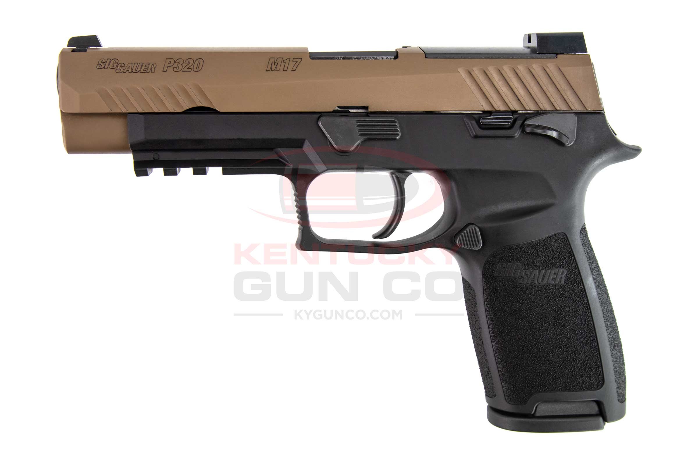 P320 M17 9MM COY/BLK