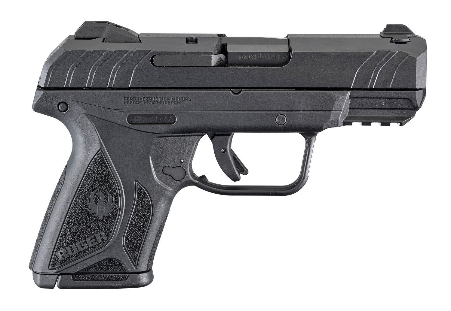 "Security 9 Compact 9mm 3.42"" B"