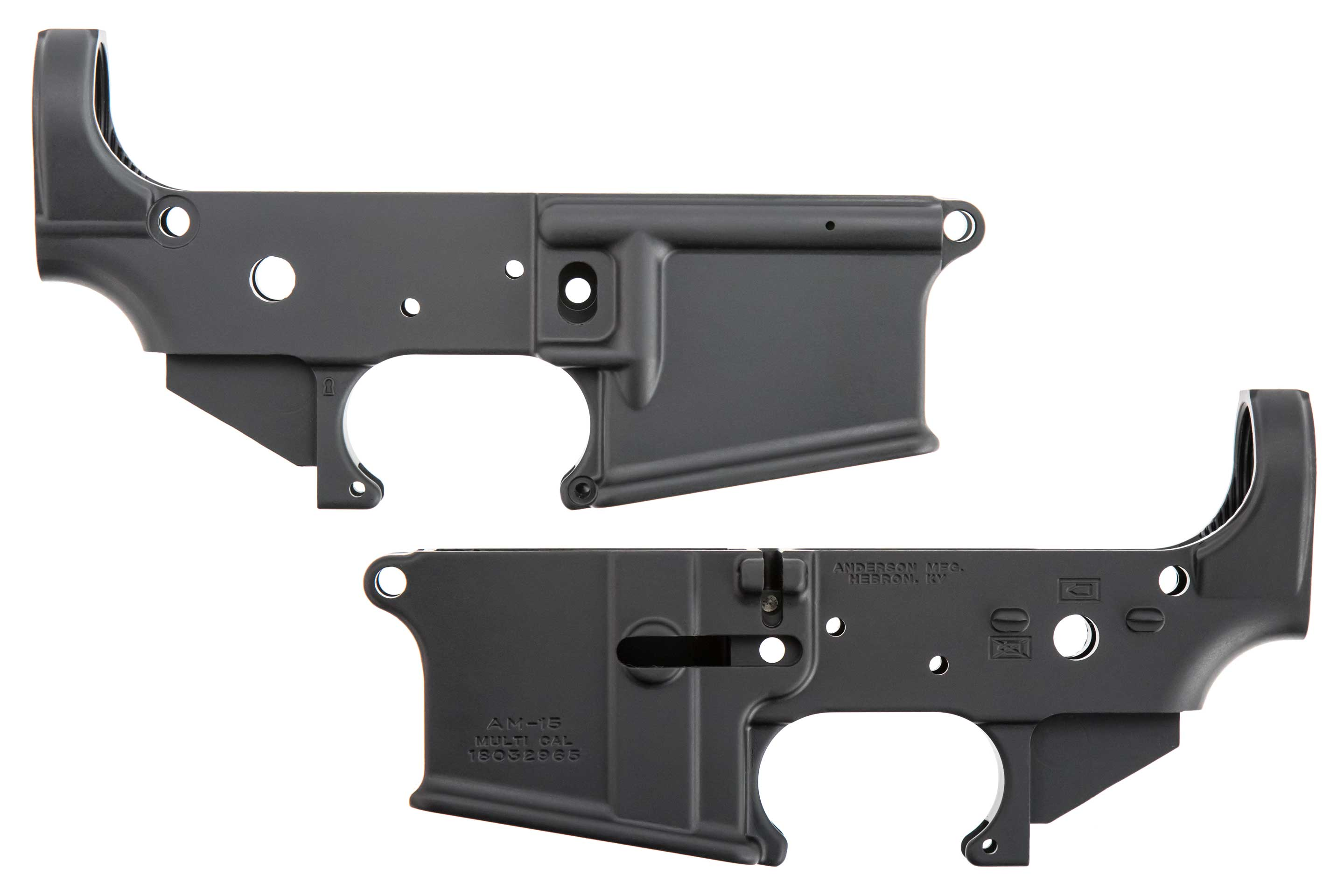 AM-15 Lower Receiver 2-pack