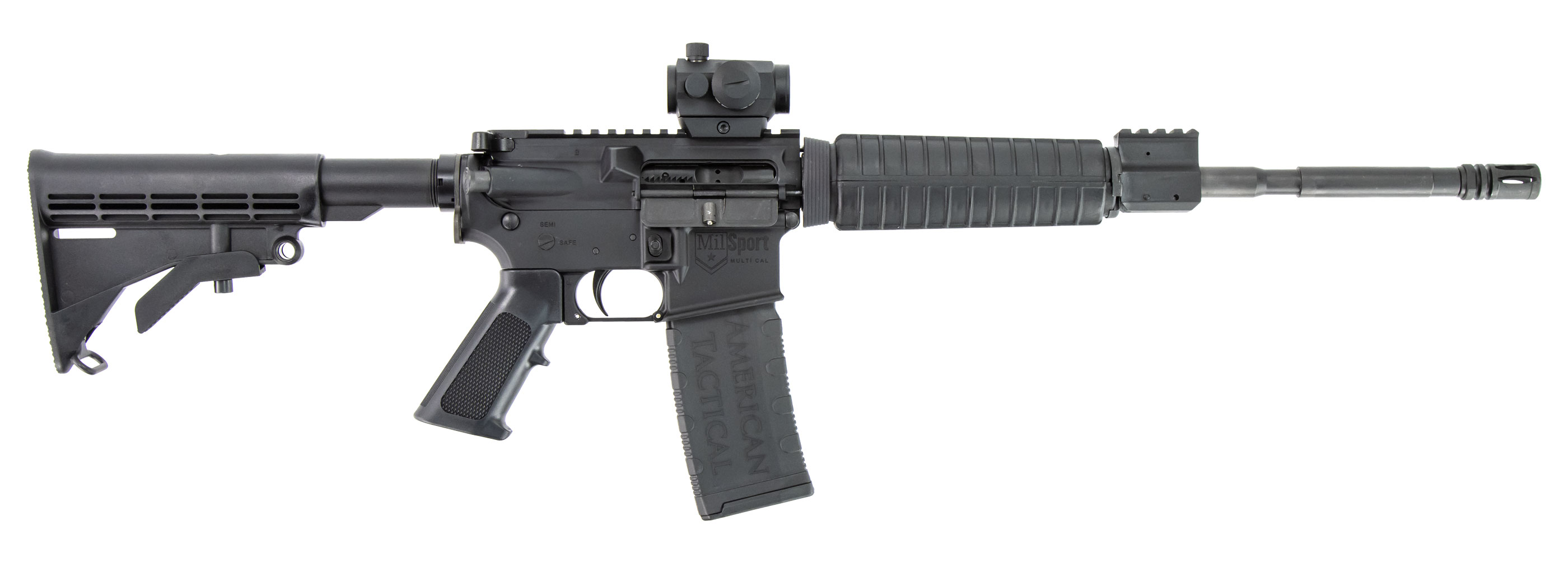 MILSPORT 5.56  w/ Red Dot