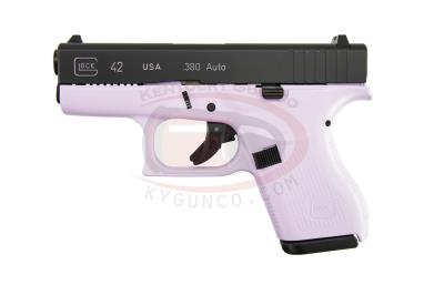 "G42 380ACP 3.25"" 6+1 Pink Sing Hover"