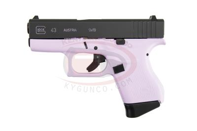 "G43 9MM 3.39"" 6+1 PINK Hover"