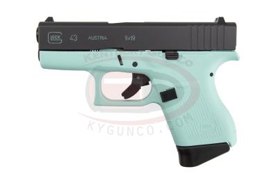 "G43 9mm 3.39"" 6+1 Angel Blue"