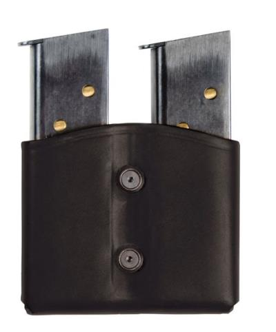 LTHR DUAL MAG POUCH DBL STACK