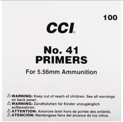 No. 41 Primer for 5.56mm 100rd
