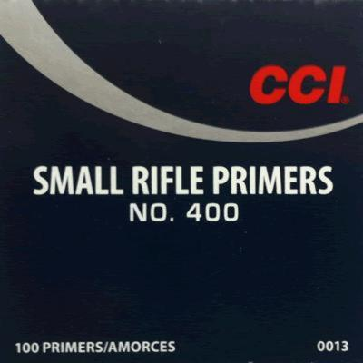 400 STD SM RIFLE PRIMER BRICK