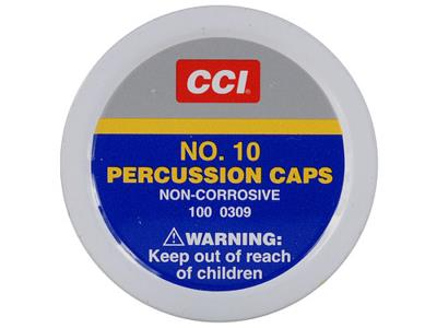 #10 PERCUSSION CAPS 100RD