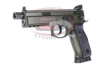 CZ SP-01 9MM 18RD TB OD GREEN