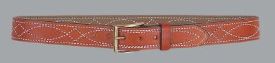 FANCY STITCHED BELT 1 1/2IN 44