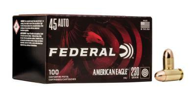 45 ACP 230Gr Am Eagle Full Met