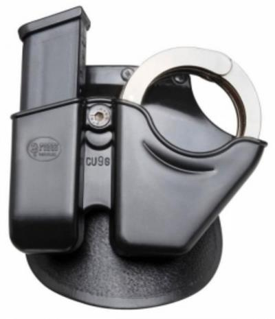 CUFF/MAG DOUBLE STACK HOLSTER