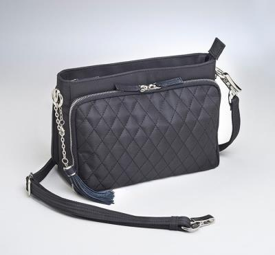 Quilted Shoulder Clutch 10.5""