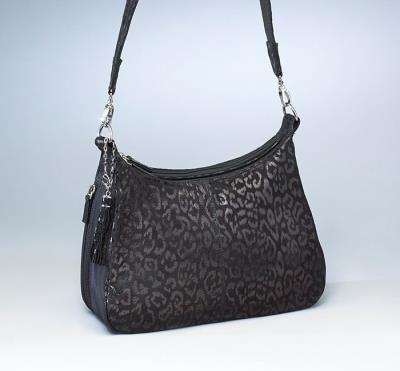 Basic Hobo Handbag Debossed Su