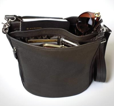 Bucket Tote Brown 10.5""