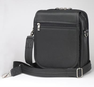 Urban Shoulder Bag Black 7.75""