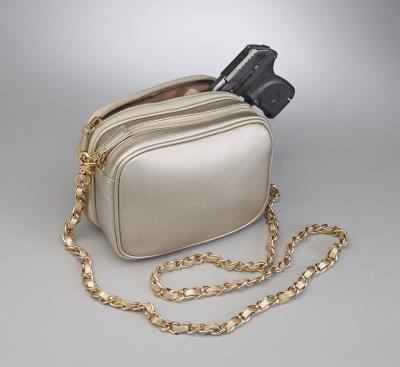 Evening Shoulder Pouch Gold 7.