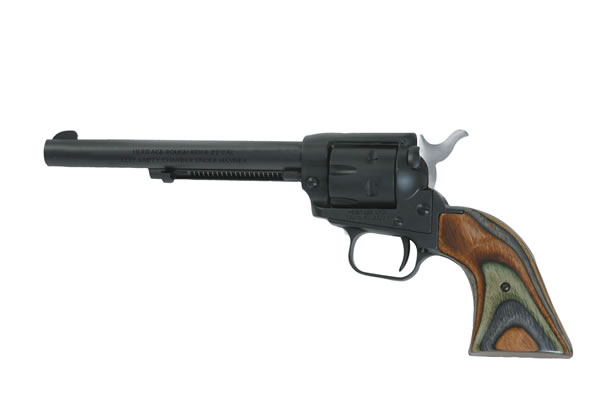 ROUGHRIDER 22LR/MAG BLACK 6.5B