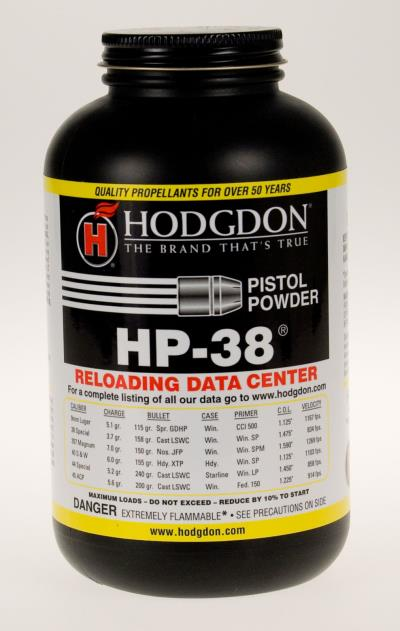 HP-38 Handgun Powder 1lb