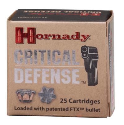 40 SW 16.5GR FTX CRITICAL DEF Hover