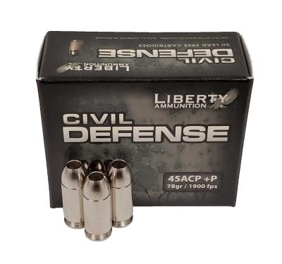 45 ACP+P CIVIL DEFENSE 78GR 19 Hover