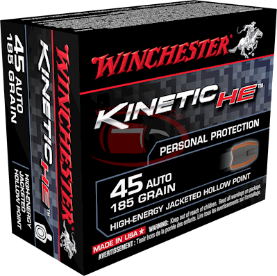45 ACP Kinetic High Energy 185