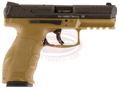 VP9 9mm (FDE) two 15rd mag Hover