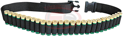 Belt-Shotgun Shell Blk Holds 2