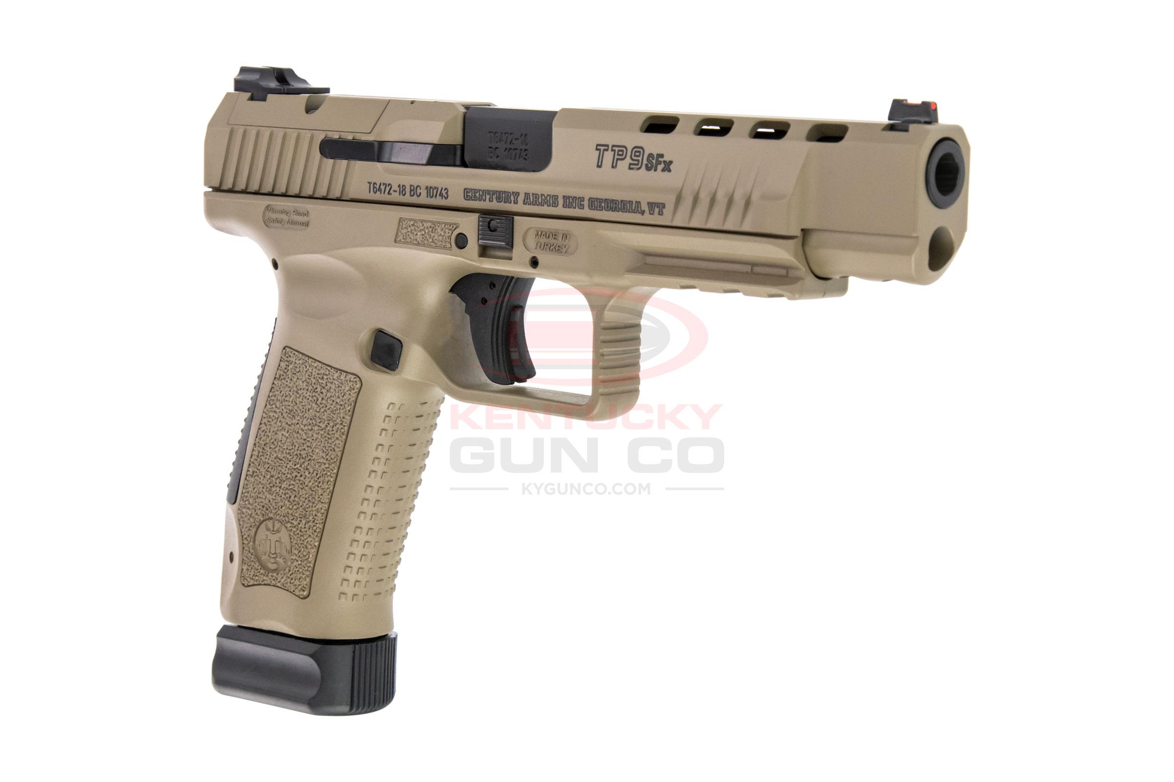 Canik TP9SFx 9mm Desert Tan