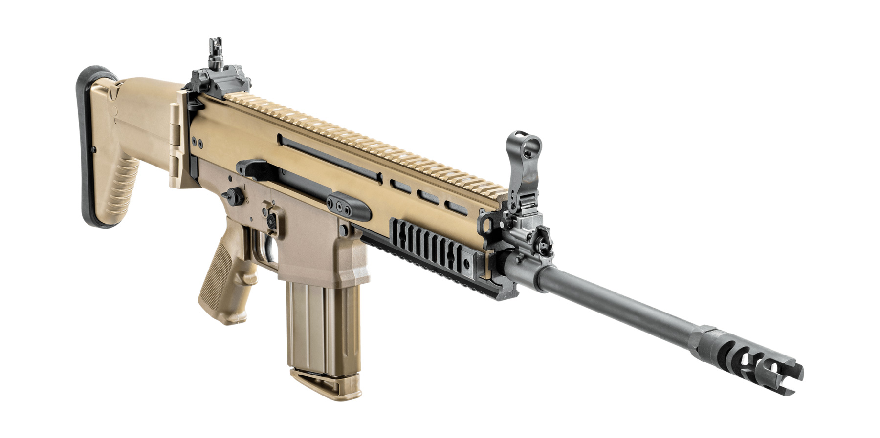 SCAR 17S 7 62x51mm FDE 16-in 2